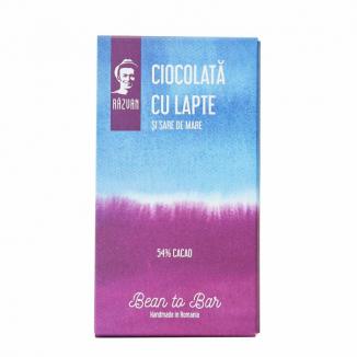 Ciocolata lapte 54 % sare mare 70 g