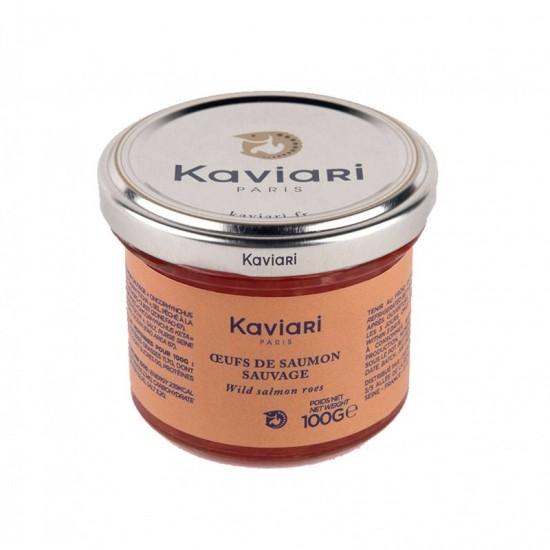 Icre de somon salbatic 100 g |Kaviari