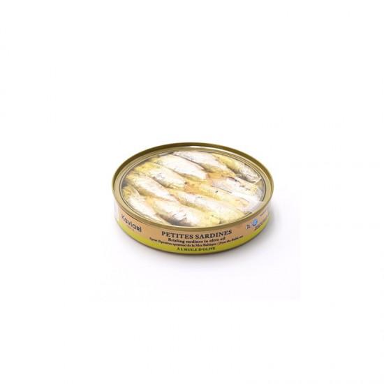 Sardelute in ulei de masline 120 g | Kaviari