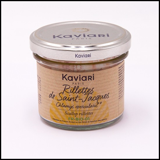 Crema tartinabila rillettes de St. Jacques 90g | Kaviari
