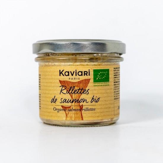 Crema tartinabila rillettes de somon bio 90g | Kaviari