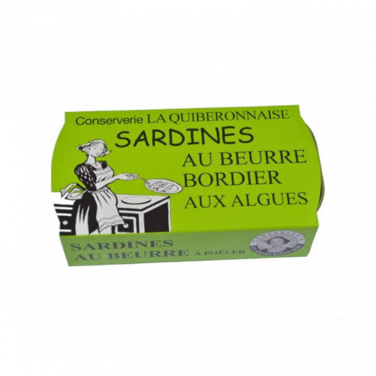 Sardine Bordier cu alge 115g