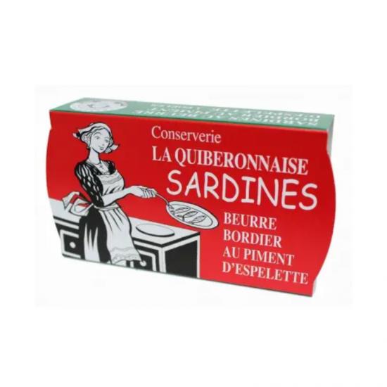 Sardine Bordier picante 115g