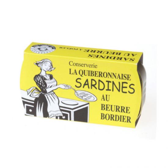 Sardine Bordier cu unt 115g