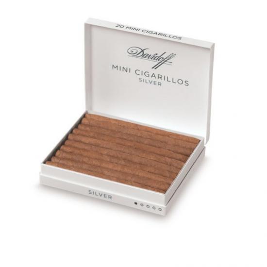 DAVIDOFF Mini Cigarillos Silver 20S