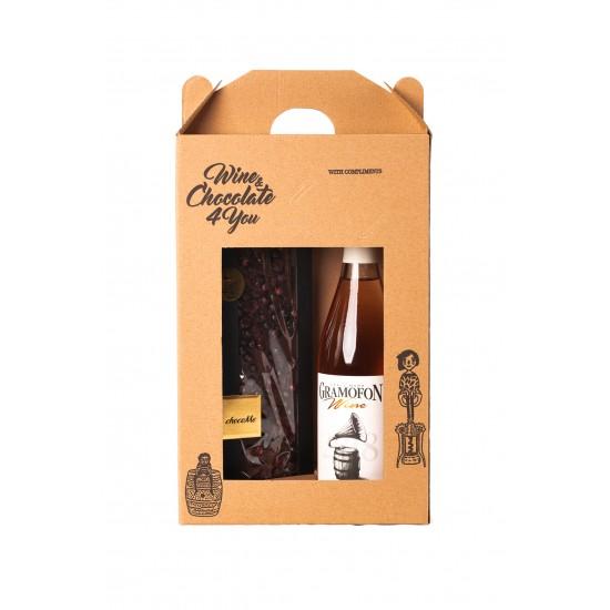 Gramofon Roze Merlot / Ciocolata Wine Merlot