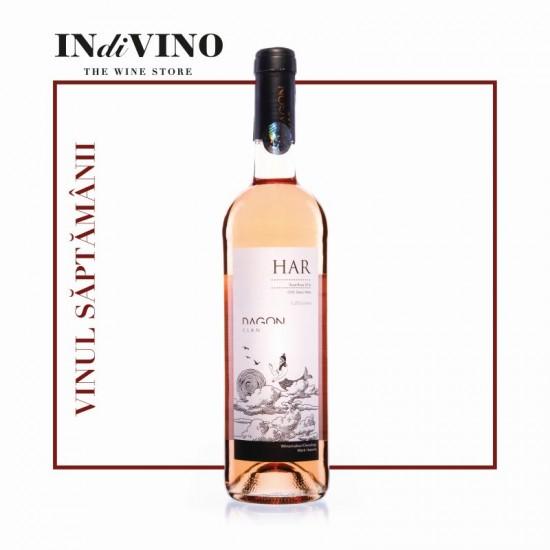 HAR Cabernet Sauvignon&Syrah Rose 2019, sec, 750ml