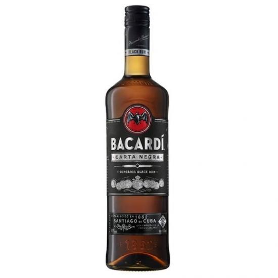 RUM BACARDI BLACK 0.7L 40%