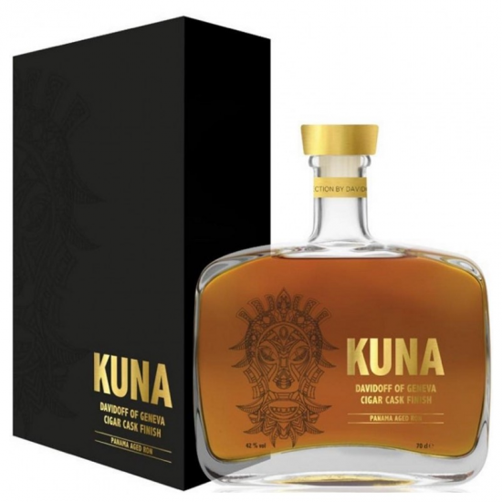 KUNA DAVIDOFF CIGAR CASK FINISH 0.7L, 42%