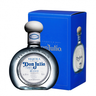 TEQUILA DON JULIO BLANCO  0,7L 38%