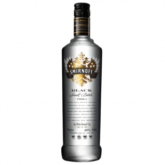 VODKA SMIRNOFF BLACK  0.7L 40%