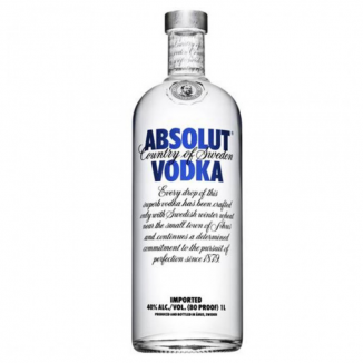VODKA ABSOLUT BLUE 1L 40%