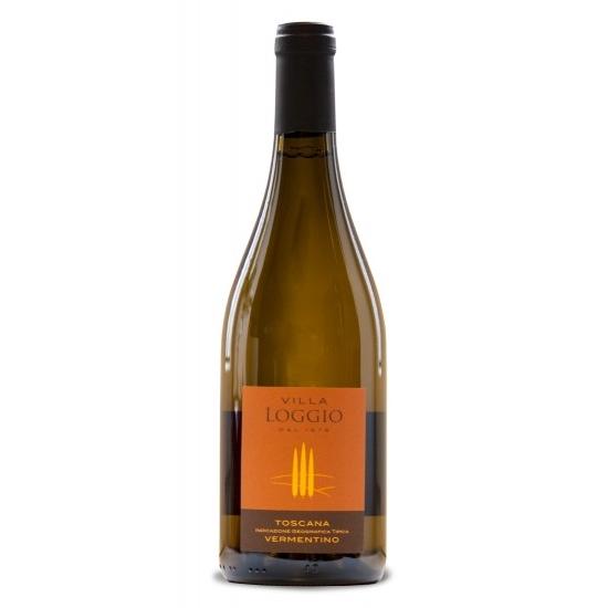 Villa Loggio Vermentino Di Toscana IGT 2015, sec, 750 ml
