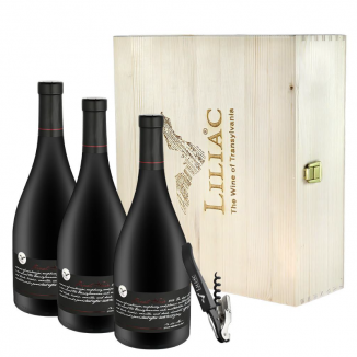 CASETA LEMN 3 STICLE (Pinot Noir selection 2015,2016,2017)