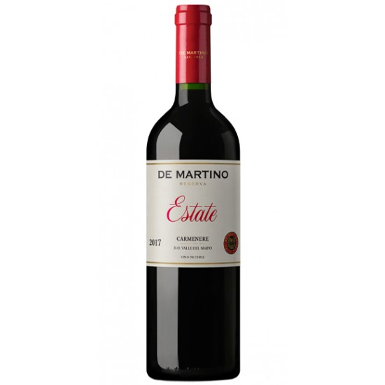 De Martino  Estate Carmenere  2017,sec, 750ml