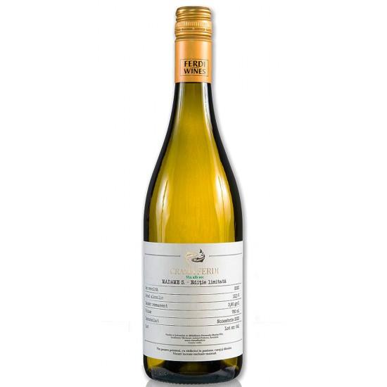 Crama Ferdi Madame S Sauvignon Blanc 2020,sec, 750ml