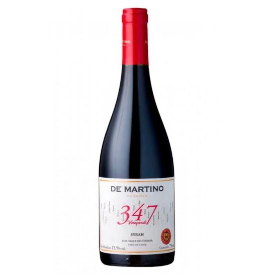 De Martino 347 Vineyards Syrah 2016,sec, 750ml