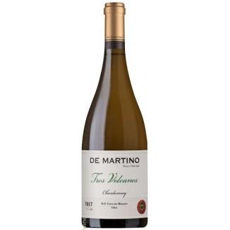 De Martino Chardonnay Tres Volcanes 2017,sec, 750ml